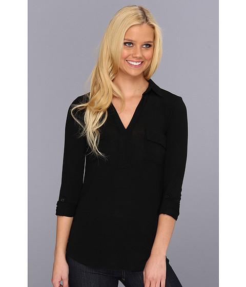 Bluze Splendid - Drapey Lux Tunic - Black