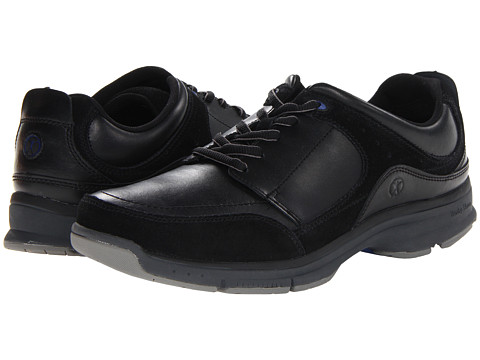 Pantofi Hush Puppies - Origin Oxford - Black Leather