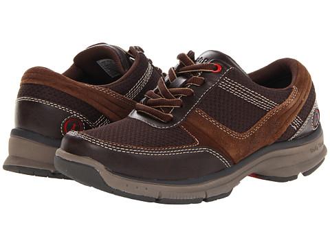 Pantofi Hush Puppies - Origin Oxford MT - Dark Brown Multi