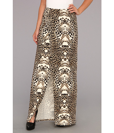 Fuste Tart - Samara Maxi Skirt - Leopard Mirror