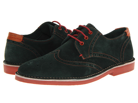 Pantofi Ted Baker - Jamfro 2 - Dark Green Suede