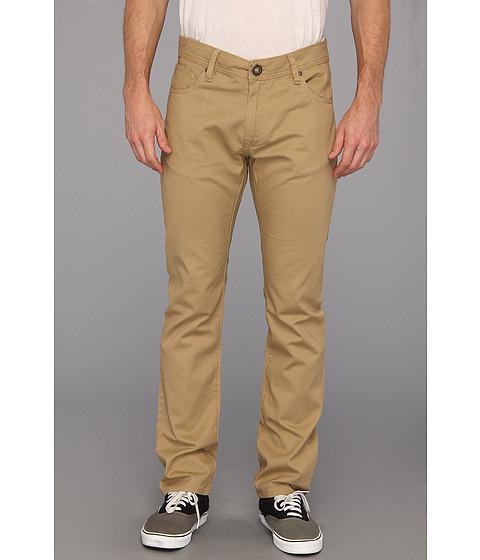 Pantaloni Volcom - Vorta Twill Pant - Dark Khaki