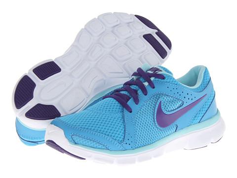 Adidasi Nike - Flex Experience Run 2 - Vivid Blue/Glacier Ice/White/Court Purple