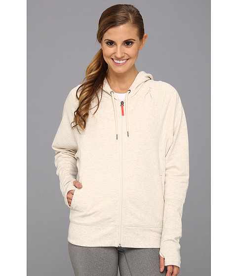Bluze New Balance - Fashion Full Zip Hoodie - Natural Heather