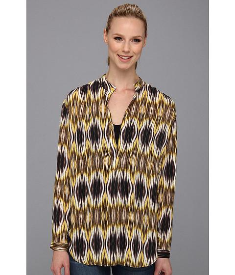 Bluze Karen Kane - Split Placket Shirred Blouse - Print