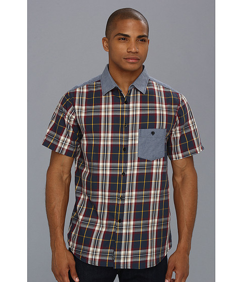 Camasi ECKO - Eclipse S/S Plaid - Eclipse Blue