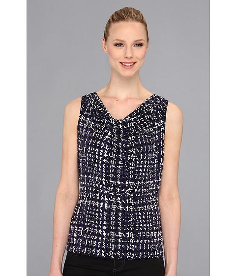 Bluze Calvin Klein - Printed Drape Neck Cami - Night
