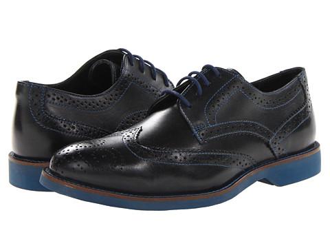 Pantofi Donald J Pliner - Elk - Black/Black Calf