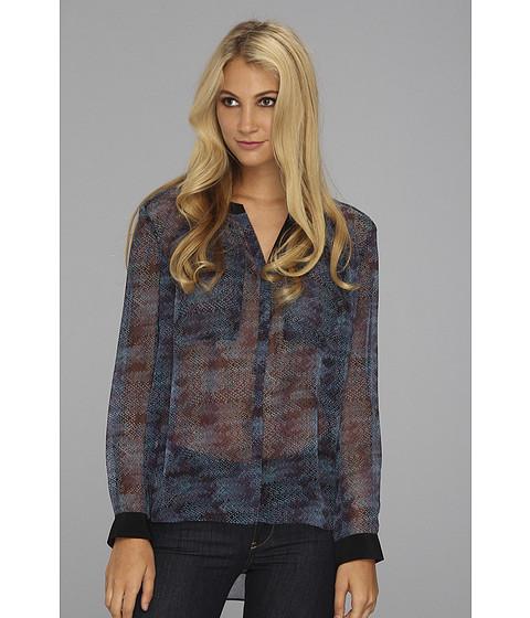 Bluze Rebecca Taylor - Stainglass Henley - Blue