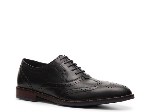 Pantofi Hush Puppies - Wingtip Oxford - Black