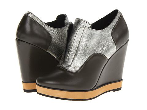 Pantofi Nanette Lepore - Two-Timer Wedge - Olive