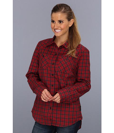 Camasi Oakley - Woodland L/S Woven - Redwood