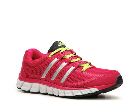 Adidasi adidas - Liquid Ride Running Shoe - Womens - Pink/Neon Green/Silver/Black