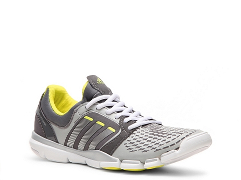 Adidasi adidas - adiPure Trainer 360 Cross Training Shoe - Womens - Grey/Yellow/Silver