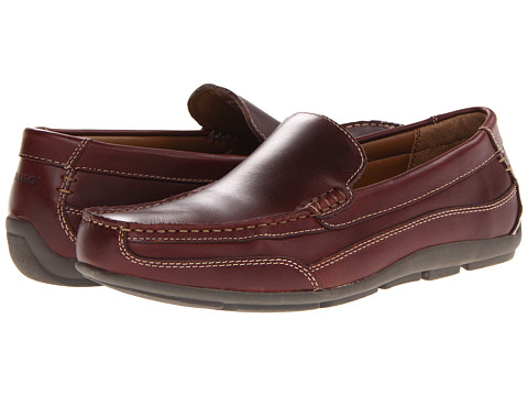 Pantofi Sebago - Captain - Dark Brown Pull-Up
