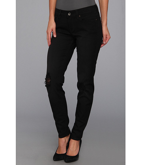 "Blugi Lucky Brand - Charlie Skinny Black Destructed 29"" in Secession - Secession"