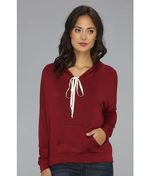 Bluze Gabriella Rocha - Allison Pullover Hooded Sweater - Burgundy