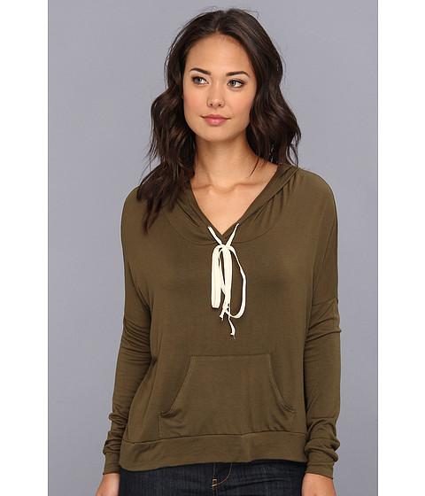 Bluze Gabriella Rocha - Allison Pullover Hooded Sweater - Olive