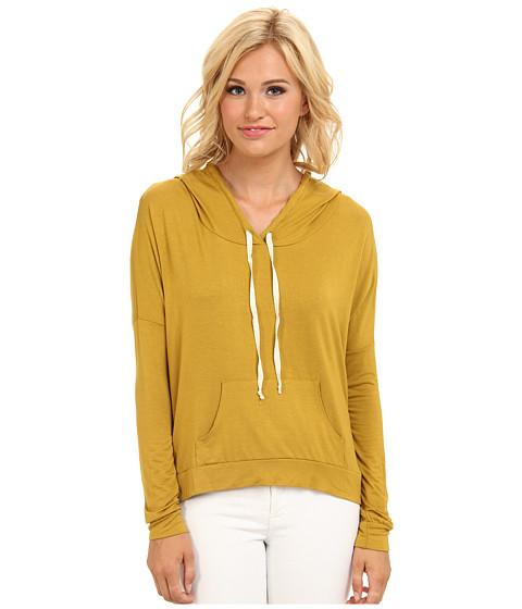 Bluze Gabriella Rocha - Allison Pullover Hooded Sweater - Mustard