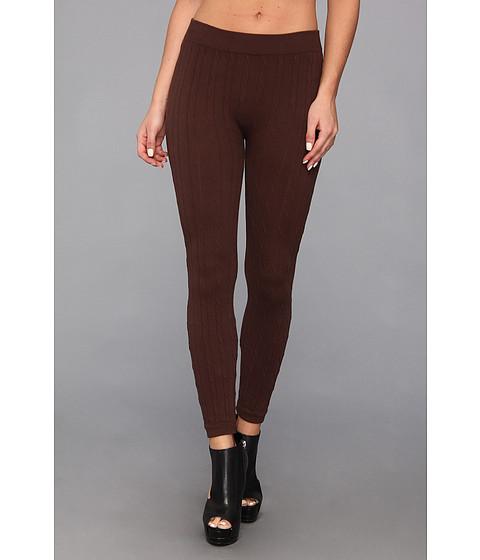 Pantaloni Gabriella Rocha - Cable Knit Legging - Brown