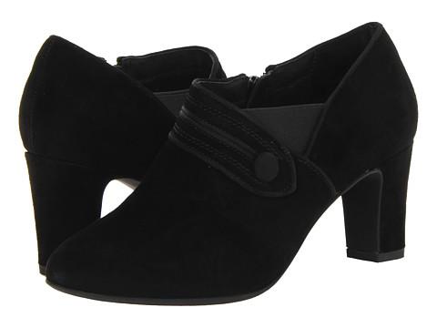 Pantofi Clarks - Tamryn Maize - Black Suede