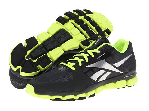 Adidasi Reebok - RealFlex Transition 4.0 - Gravel/Neon Yellow/Black