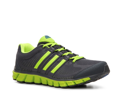 Pantofi adidas - Liquid Ride Lightweight Running Shoe - Mens - Grey/Lime Green