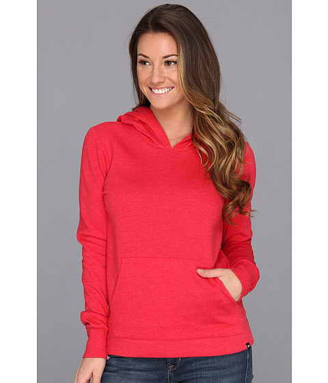 Bluze Hurley - Solid Slim Fleece Pullover - Heather Tangier Red