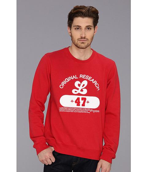 Bluze L-R-G - Front Runner Sweatshirt - Red Heather