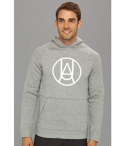 Bluze Under Armour - UA Charged CottonÃ'® Storm Mountain Hoodie - True Grey Heather/White/Steel