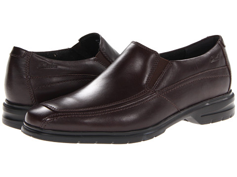 Pantofi Clarks - Mayline - Dark Brown Leather