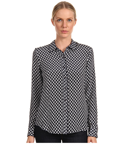Bluze Theory - Cully Top - Uniform/White