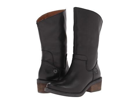 Botine Calvin Klein Jeans - Gracie Leather - Black Leather