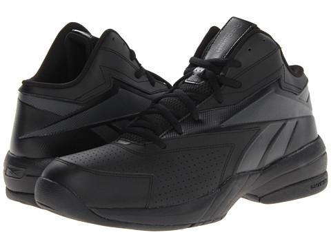 Adidasi Reebok - Reebok Court Flyer - Black/Black/Gravel