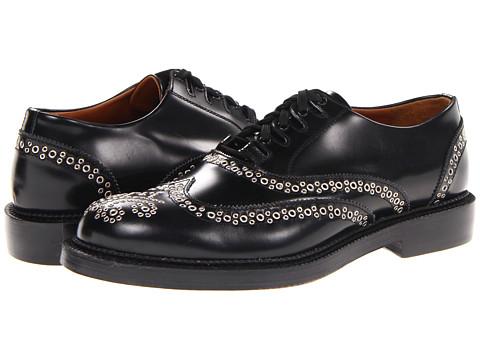 Pantofi DSQUARED2 - Louisiana Laced Up Brogue - Black