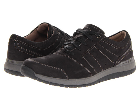 Pantofi Clarks - Reiley Trail - Black Nubuck