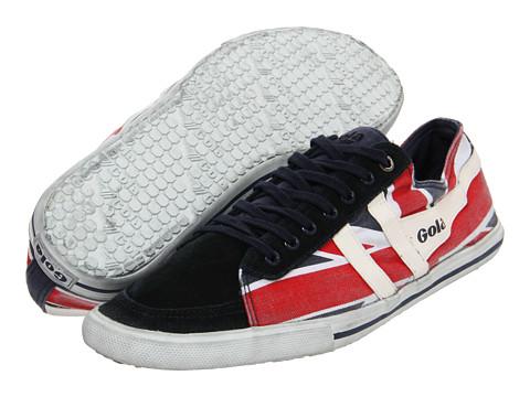 Adidasi Gola - Quota Union Jack - Navy/White/Red