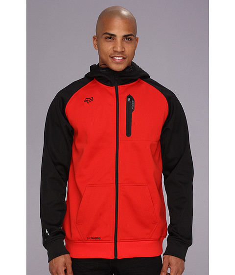 Bluze Fox - Restriction Zip Front Hoodie - Flame Red