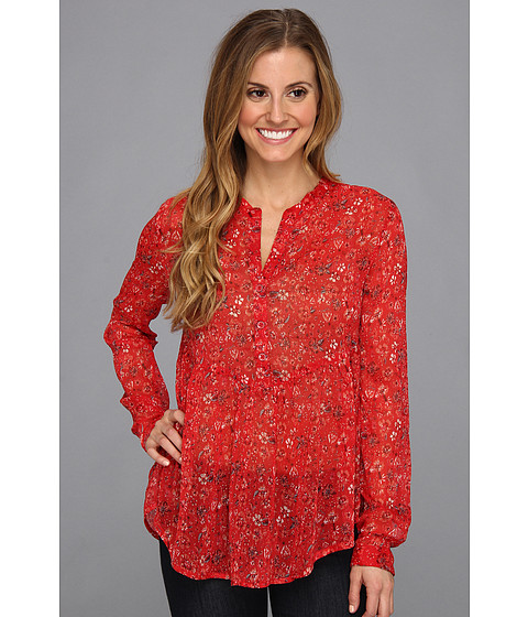 Bluze Roxy - Hit The Road Shirt - Lipstick Red Ditsy