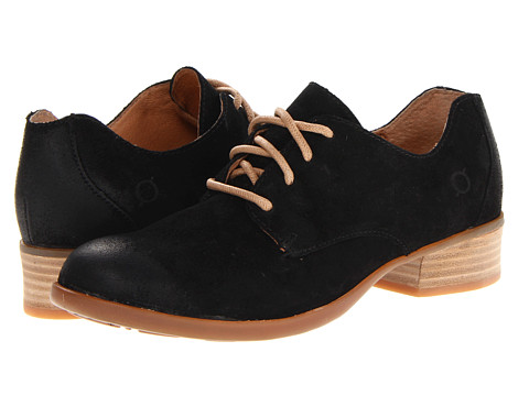 Pantofi Born - Mott - Black Distressed