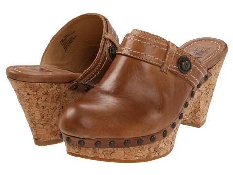 Sandale Frye - Audra Button Clog - Fawn