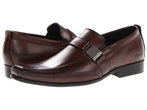 Pantofi Kenneth Cole Reaction - Money Down - Brown Synthetic
