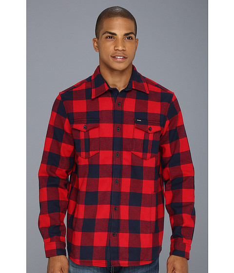 Camasi Hurley - Squadron L/S Woven - Redwing