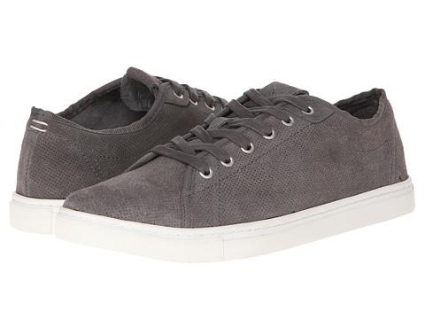Adidasi Calvin Klein Jeans - Hartman - Dark Grey Perf Suede