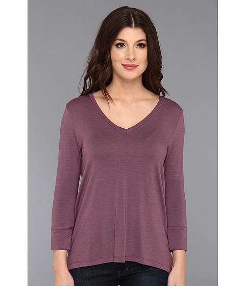 Bluze Culture Phit - Cooper Modal Top - Purple