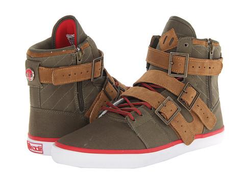 Adidasi radii Footwear - Straight Jacket VLC - Army/Brown/Red
