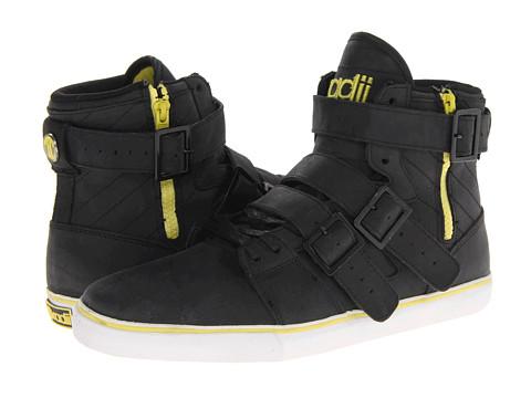 Adidasi radii Footwear - Straight Jacket VLC - Black/Yellow Nubuck