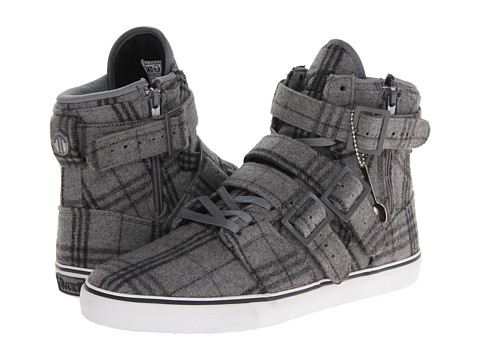 Adidasi radii Footwear - Straight Jacket VLC - Grey/Plaid Wool