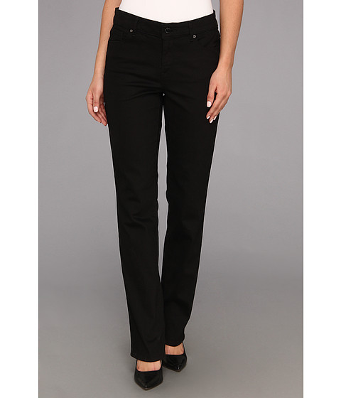 Blugi Anne Klein New York - Leo Slim Straight in Black - Black