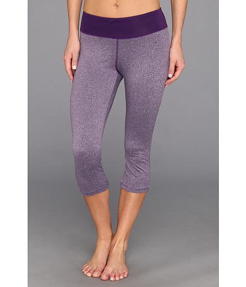 Pantaloni New Balance - All Over Heather Capri - Magnet